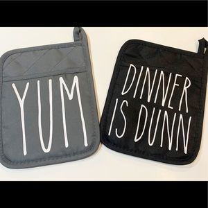 Rae Dunn Inspired Oven Mits
